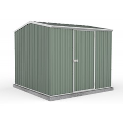 Absco Colorbond Gable Garden Shed Medium Garden Sheds 2.26m x 2.26m x 2.00m 23231GK